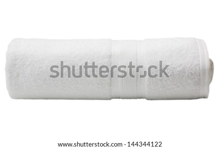 Close-up of a towel - stock photo