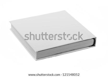 close up of a white box - stock photo