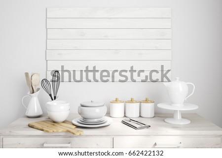 Kitchen Counter Close Up kitchen counter close up stock illustrations, images & vectors