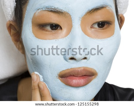 asian-facial-mask-nude-swiddish-weman