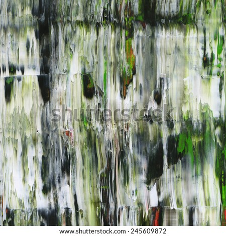 Close-up of abstract painting - stock photo