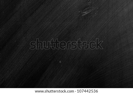 close up of an empty school  blackboard - stock photo