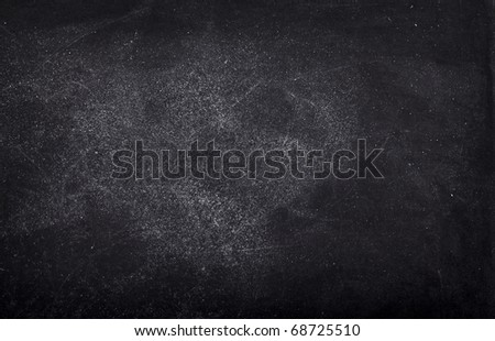 close up of an empty school chalkboard