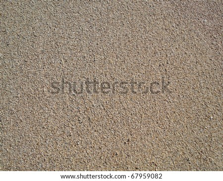 close up of Beach Sand on Diamond Head beach Hawaii. texture works well as abstract background. Sand pattern. - stock photo
