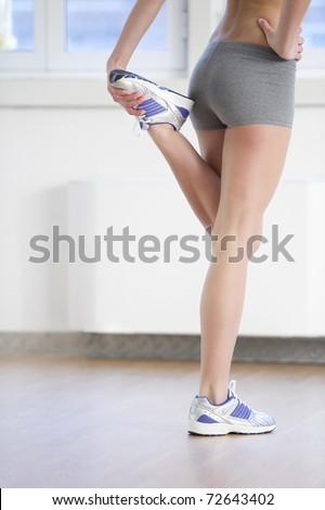 Woman Sitting On Toilet Smartphone Stock Photo 595719383