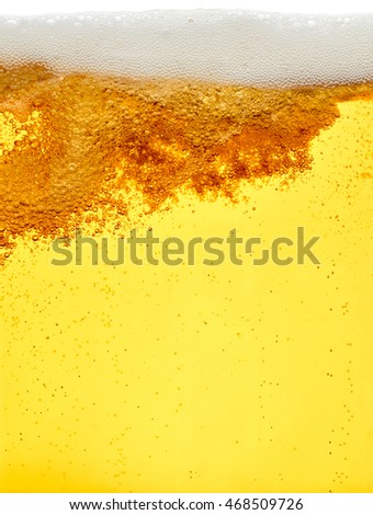 close up of beer