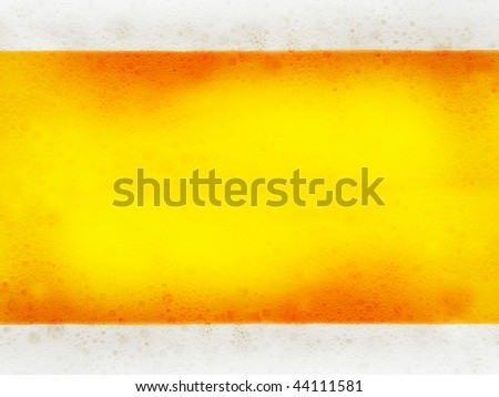 Close up of beer bubbles abstract background - stock photo