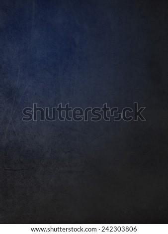 Close up of blackboard overlaid with blue patch - stock photo
