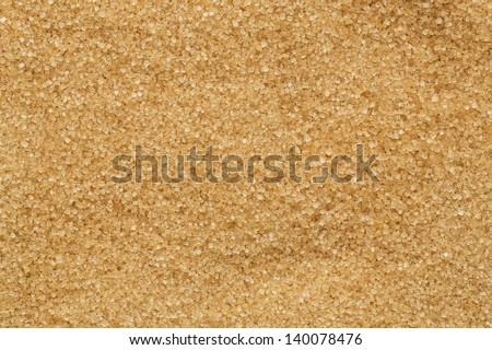 Close up of brown sugar texture - stock photo