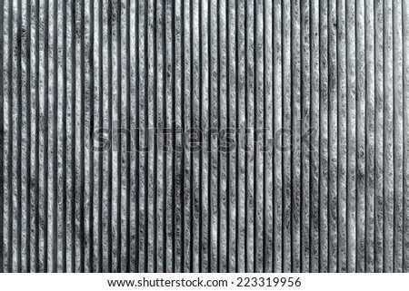 Close-up of car carbon cabin filter. Background. - stock photo