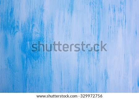 close up of colored blue wooden backround - stock photo