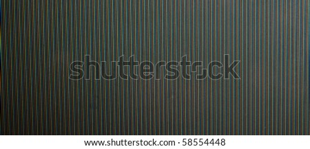 Close up of CRT Monitor Glass - stock photo