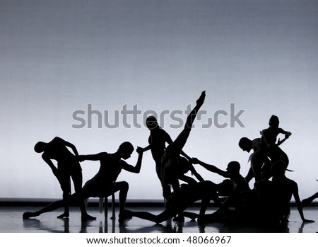 close up of dancers