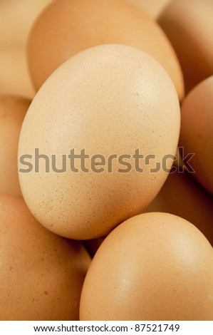 close up of eggs