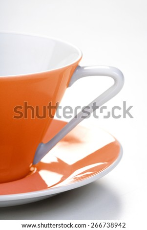 Close up of empty cup - stock photo