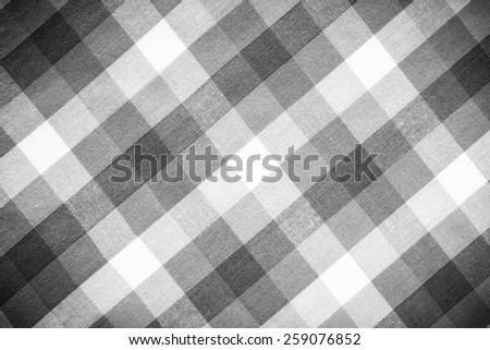 close up of Fabric plaid texture. Geometric background