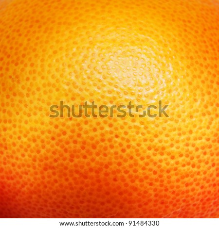 Close up of grapefruit or orange texture. - stock photo