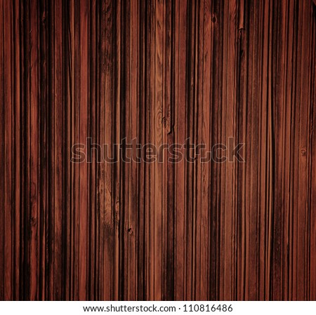 Close up of grunge wooden fence panels.