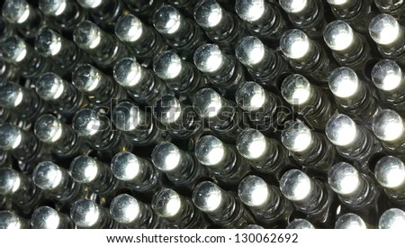 Close Up of LED Light - stock photo