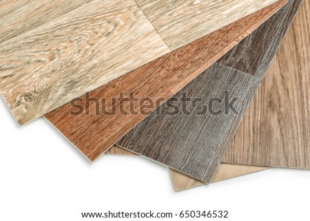 close up of linoleum flooring on white background
