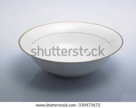 close up of Luxury ceramic bowl  - stock photo