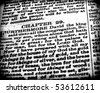 Close up of old Holy bible book - stock vector