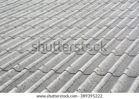 close up of old roof texture