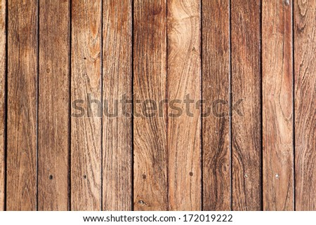 Close up of old wood texture - stock photo