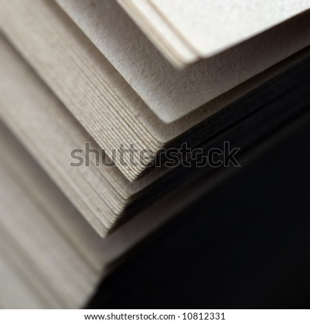 Close up of pages from a book