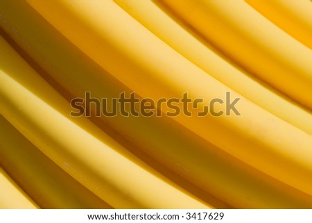Close-up of parallel plastic pipe in a soft curve. - stock photo