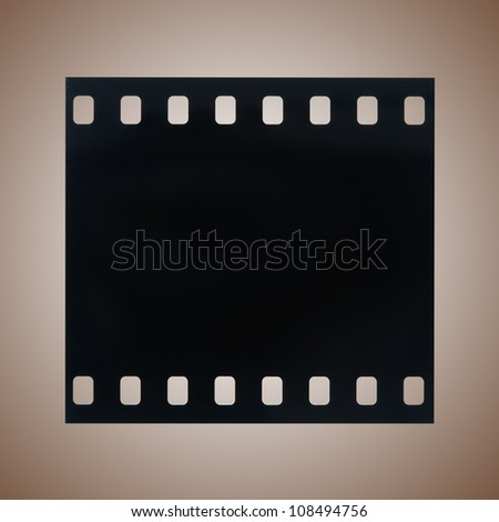 Close up of photography film - stock photo