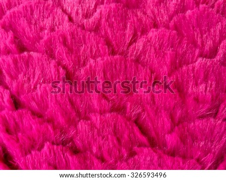 Close up of Pink carpet. Background. Textile texture. - stock photo