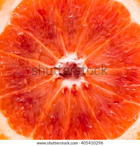 Close-up of red blood sicilian orange, food background. - stock photo