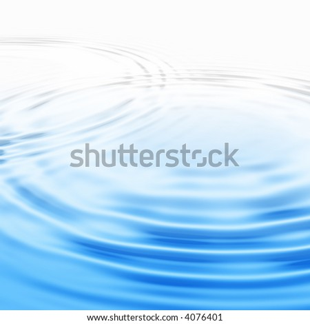 Close up of rippling water - stock photo
