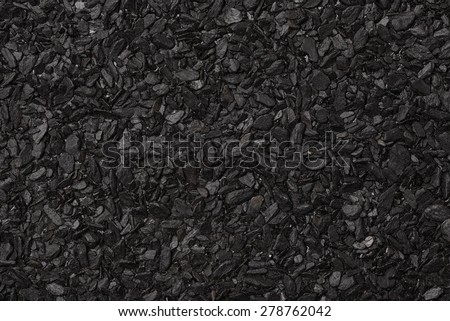 Close up of roll asphalt roofing material - stock photo