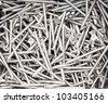 Close up of screws - stock photo