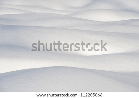 Close-up of snow - stock photo