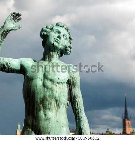 Statue of King Gustav III, Stockholm, Sweden Stock Photo, Royalty ...