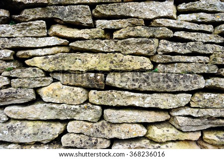 Close up of Stone Wall texture