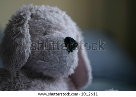 Close up of Stuffed animal