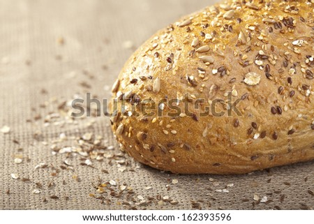 Close-up of traditional bread.  - stock photo