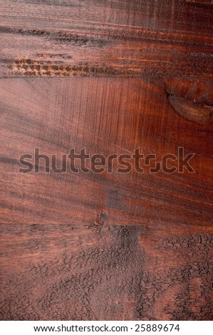 Close up of tropical wood for furniture - stock photo