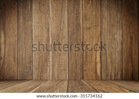 close up of wall made of wooden planks ,background for presentation  - stock photo