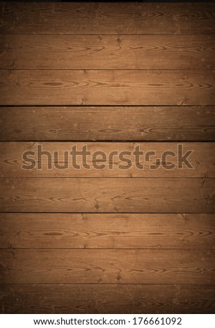 Close up of wall made of wooden planks, Wooden wall texture, wood background - stock photo