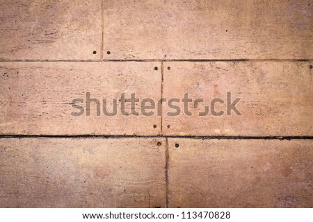 Close up of weathered wooden panels as a background image