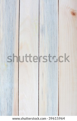 Close up of wooden planks - stock photo