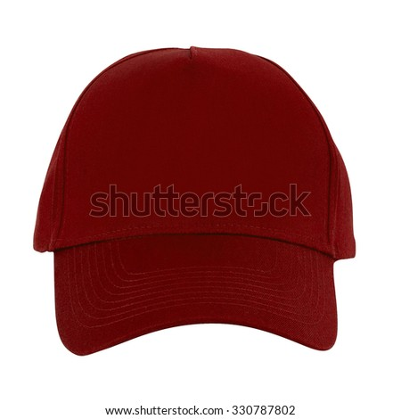 Close up of working peaked cap - stock photo