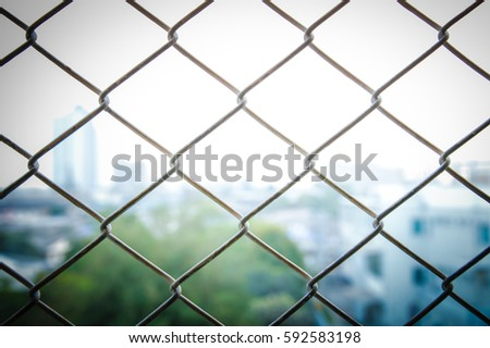 Closeup Old Iron Wire Fence Vintage Stock Photo (100% Legal ...