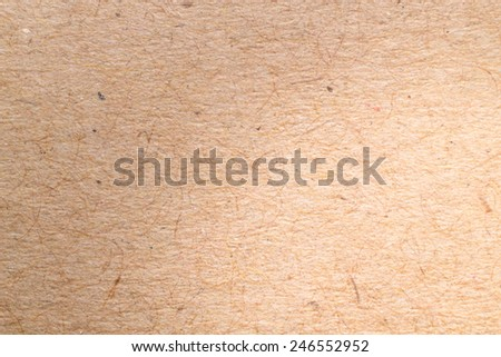 close up paper texture / brown paper sheet. - stock photo