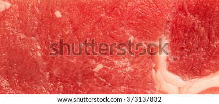close up photo of beef steak texture - stock photo
